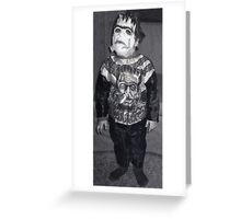 Baby Frankenstein Greeting Card