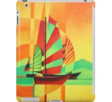 Chinese Junks Sail to Shore iPad Case/Skin
