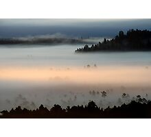 3.9.2013: Morning in Torronsuo National Park I Photographic Print