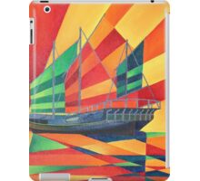 Sail Away Junk Pleasure Boat iPad Case/Skin