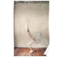A Naked Woman Jumping Poster