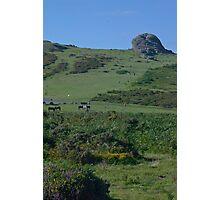 Dartmoor Haytor Photographic Print