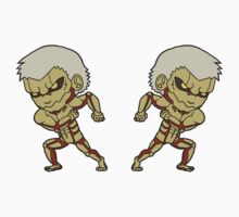 Armored Titan Stickers by SoroTrax