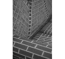 Brick couch Photographic Print
