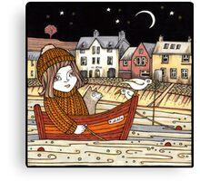 Helen's Starlit Haven Canvas Print