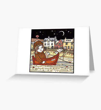 Helen's Starlit Haven Greeting Card