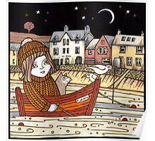 Helen's Starlit Haven Poster