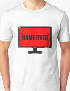 Game Over Screen T-Shirt