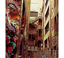 Alleyway 1 Photographic Print