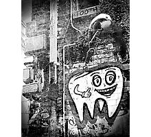 Mr Tooth Photographic Print