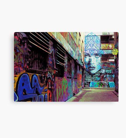 Alleyway 2 Canvas Print