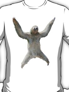 Sloth Hangs Around Your Neck :3 T-Shirt