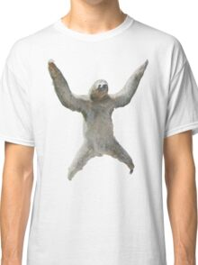 Sloth Hangs Around Your Neck :3 Classic T-Shirt