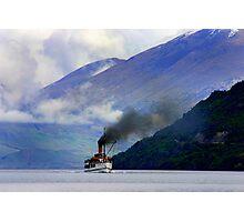 Steamship on the Lake Photographic Print