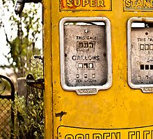 Old Petrol Pump by ByVee