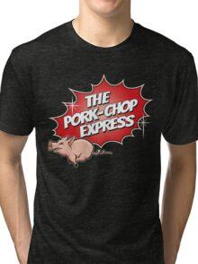 PORK CHOP EXPRESS T shirt Tri-blend T-Shirt
