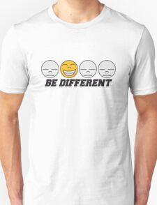 Be Different Smiley T-Shirt