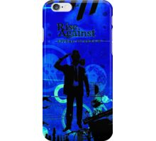 Rise Against Appeal To Reason Album Artwork Blue iPhone Case/Skin