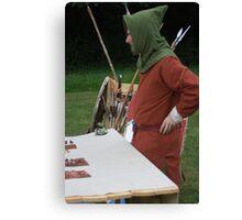 Medieval Fair Canvas Print