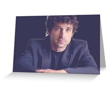 Patrick Dempsey Greeting Card