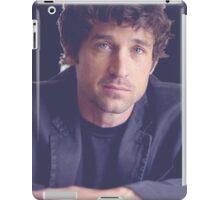 Patrick Dempsey iPad Case/Skin