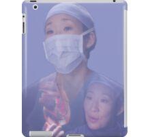 Cristina Yang cardio iPad Case/Skin