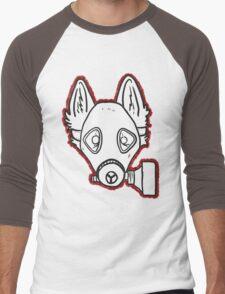 Gas Mask Wolf Broken Men's Baseball ¾ T-Shirt