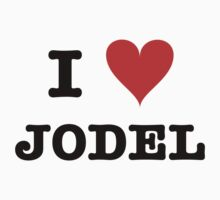 I love Jodel Kids Tee