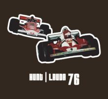 Hunt Vs Lauda 76 by gofreshfeelgood