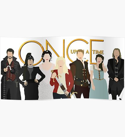 Once Upon A Time Main Cast Poster