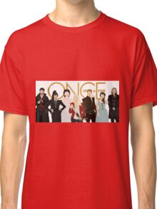Once Upon A Time Main Cast Classic T-Shirt