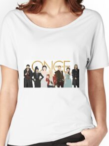 Once Upon A Time Main Cast Women's Relaxed Fit T-Shirt