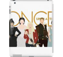 Once Upon A Time Main Cast iPad Case/Skin