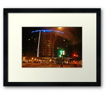 Park plaza Hotel in colors  Framed Print