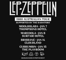 Lep Zepp white world tour by PowJones