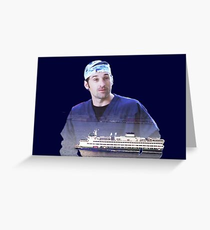 Derek Shepherd ferries Greeting Card