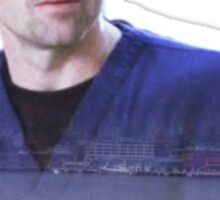 Derek Shepherd ferries Sticker