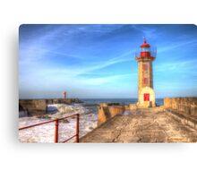 Porto Lighthouse Canvas Print