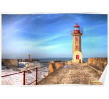 Porto Lighthouse Poster