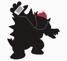 Ipod Bowser One Piece - Long Sleeve