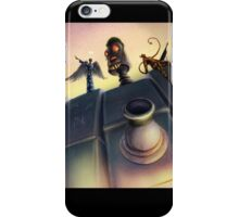 """The indecisive robot."" iPhone Case/Skin"