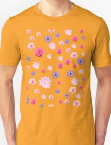 Mixture of Roses and Other Flowers Unisex T-Shirt