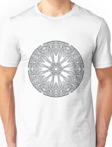 Molecule Mandala Unisex T-Shirt
