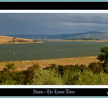 *THE TAMAR RIVER / LAUNCESTON* by Ritchard Mifsud