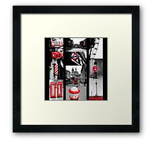 Icons of London Framed Print