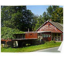 Cider Mill Barn Poster