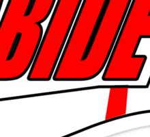 ABIDE logo - Air Lebowski II Sticker