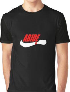 ABIDE logo - Air Lebowski II Graphic T-Shirt