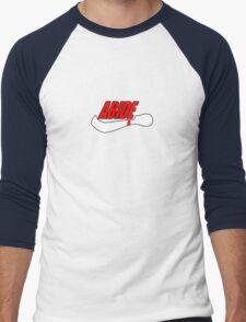 ABIDE logo - Air Lebowski II Men's Baseball ¾ T-Shirt