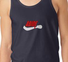 ABIDE logo - Air Lebowski II Tank Top